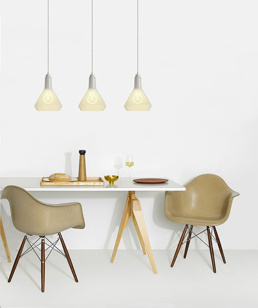 Plumen White Drop Top Lamp Set