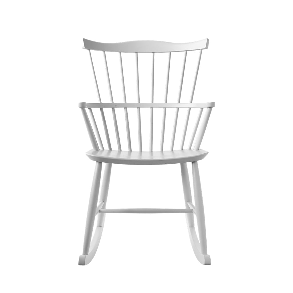 Open Room FDB Møbler J52G Rocking Chair White