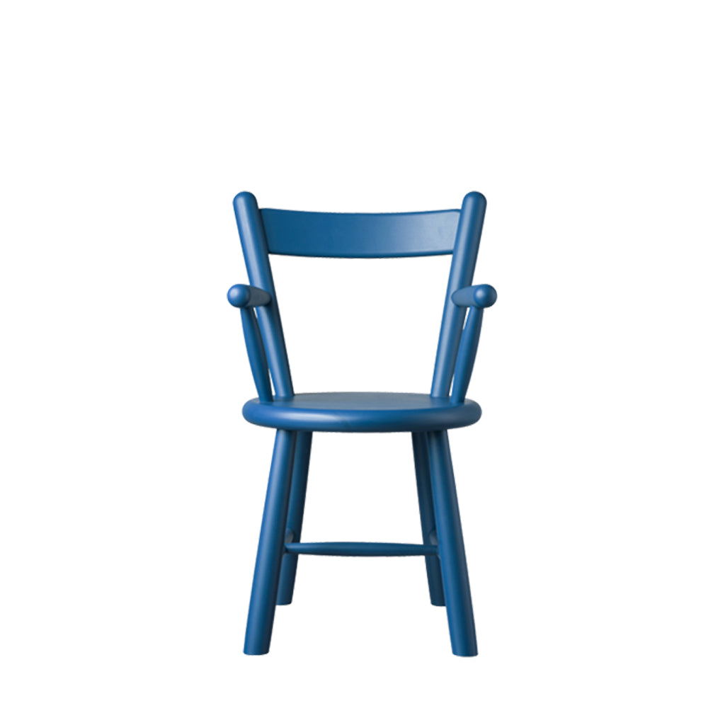 Open Room FDB Møbler P9 Child Chair Blue