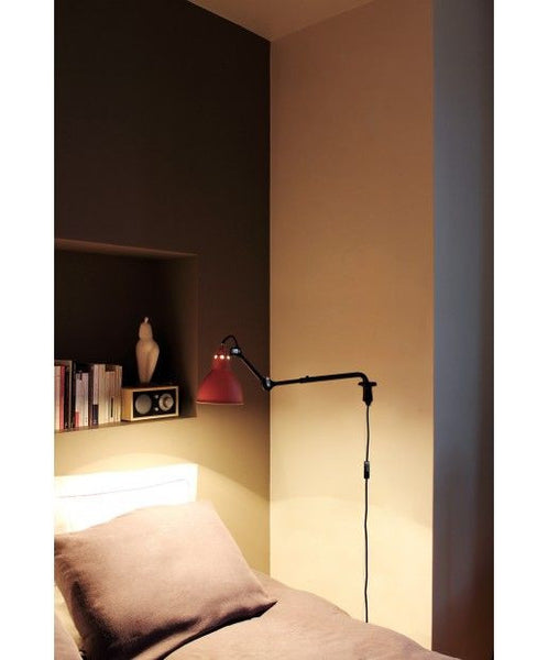 Bernard-Albin Gras N°203 Wall Lamp Black Open Room