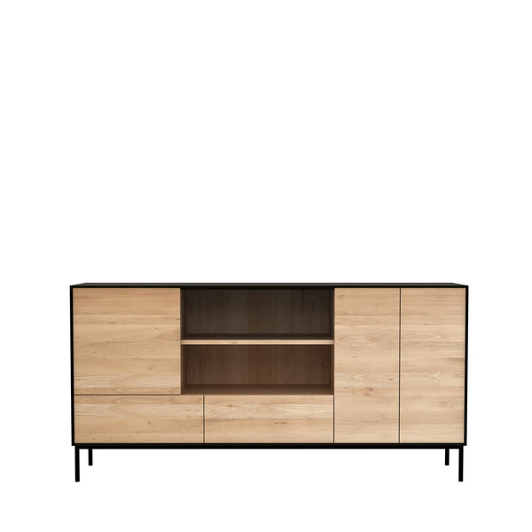 Ethnicraft Blackbird Oak Sideboard 3 Doors 2 Drawers