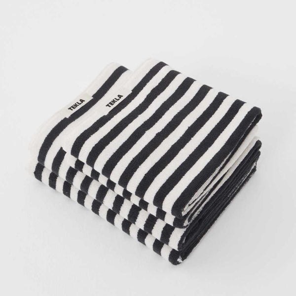 Tekla Striped Organic Terry Towel