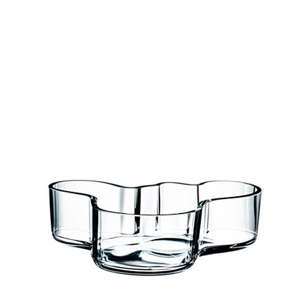 Medium Clear Bowl by Alvar Aalto