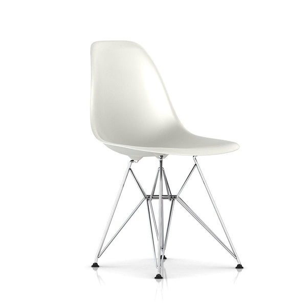 Eames® Moulded Plastic Stacking Side Chair