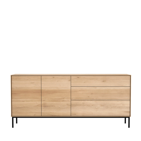Ethnicraft Oak Whitebird sideboard - 2 doors - 3 drawers