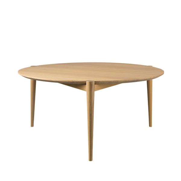FDB Møbler D102 Coffee Table Ø85 by Stine Weigelt