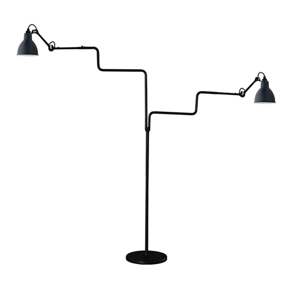 N°411 Double BL Floor Lamp by La Lampe Gras