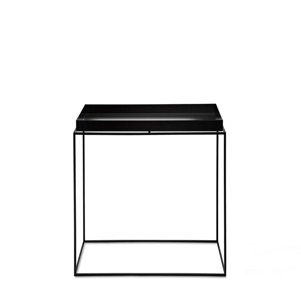 HAY Tray Rectangle Table Black 40x60 Open Room
