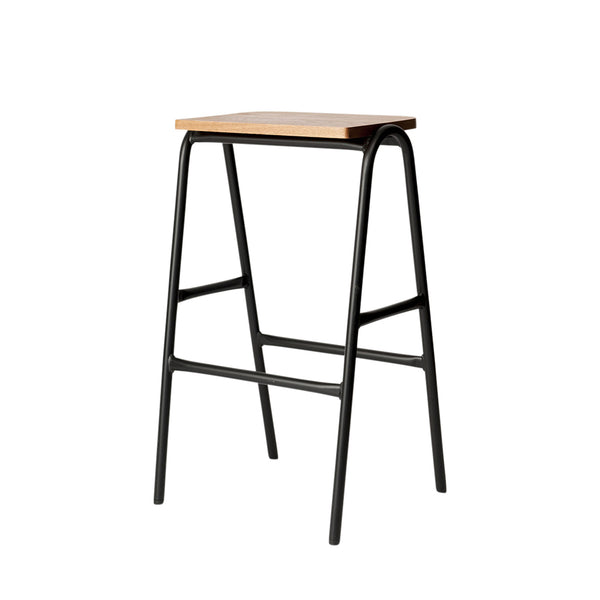 Full Hurdle High Stool by Dowel Jones