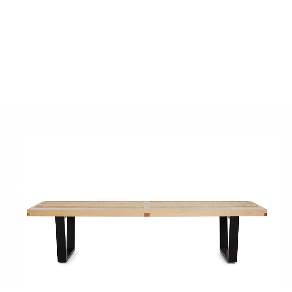Pleasant Nelson Platform Bench With Black Base Medium Gmtry Best Dining Table And Chair Ideas Images Gmtryco
