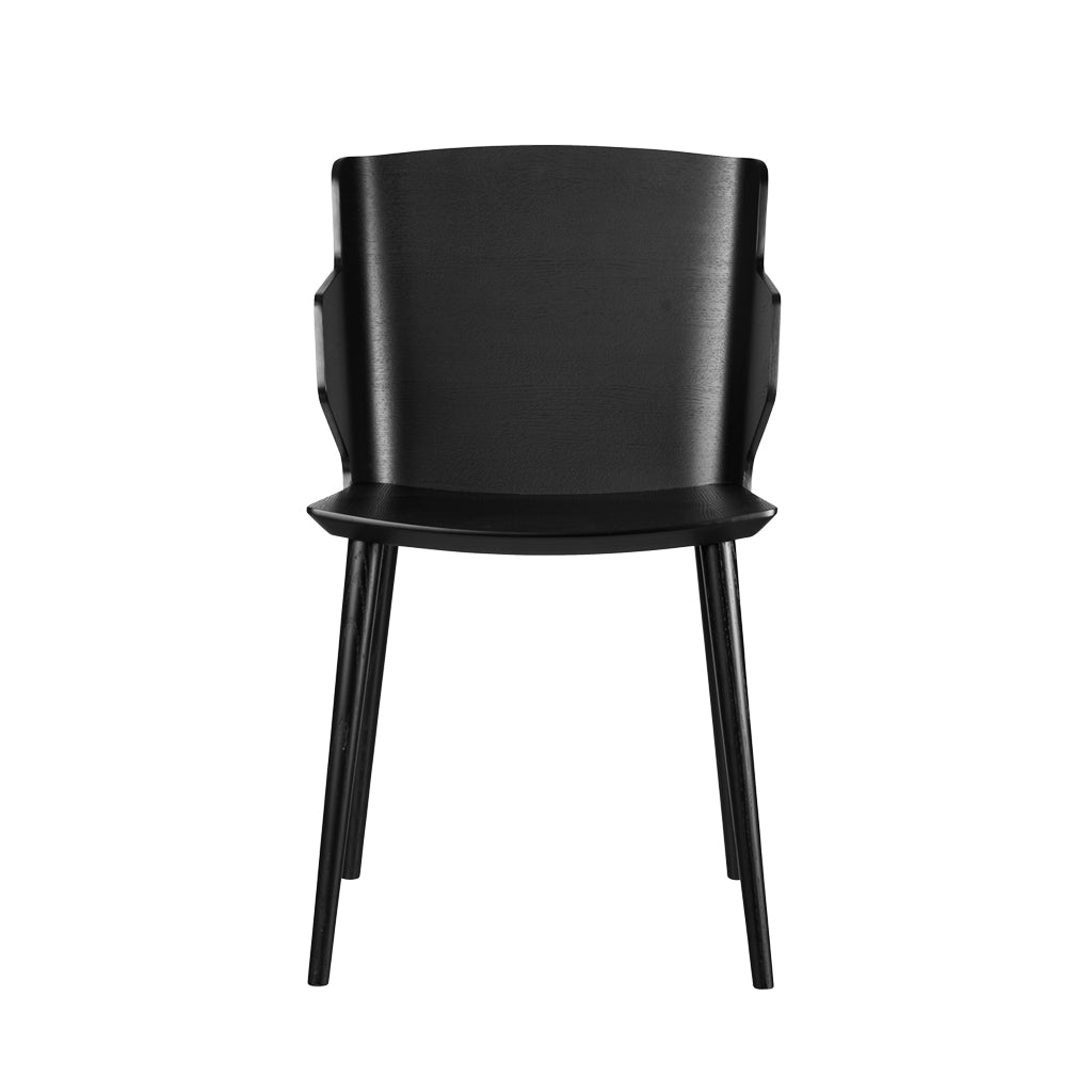 Open Room FDB Møbler J155 Yak Chair with armrest Black
