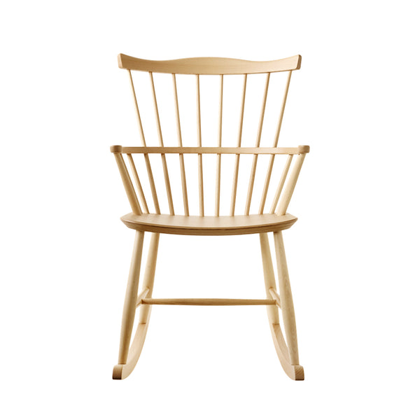 Open Room FDB Møbler J52G Rocking Chair Natural