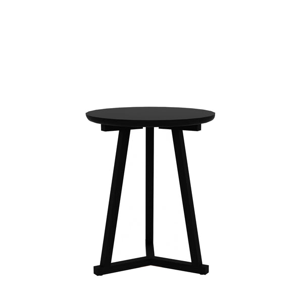 Ethnicraft Tripod Black Sidetable