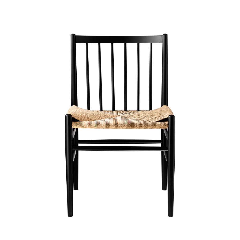 Open Room FDB Møbler J80 Chair Black/Natural