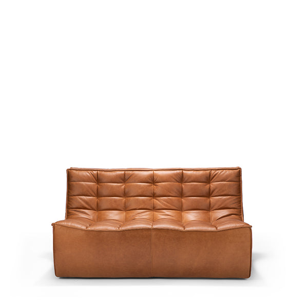 Ethnicraft N701 Sofa 2 Seater - Old Saddle