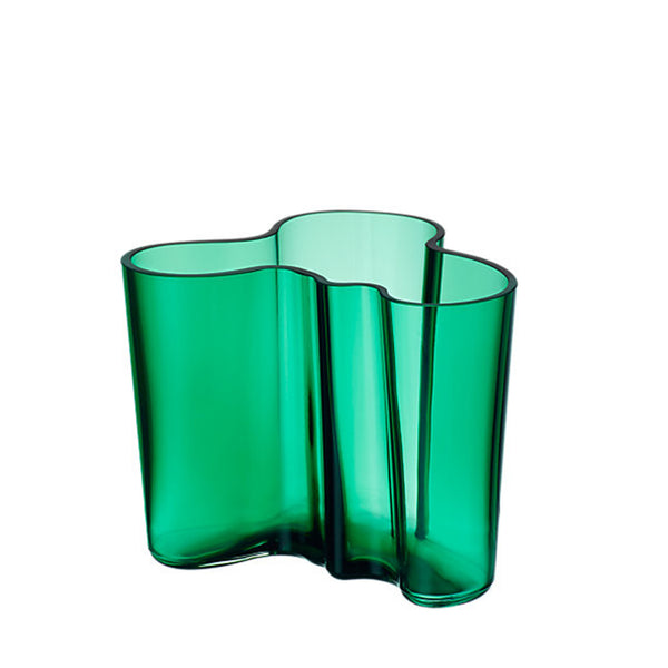 Vase Emerald 120mm by Alvar Aalto
