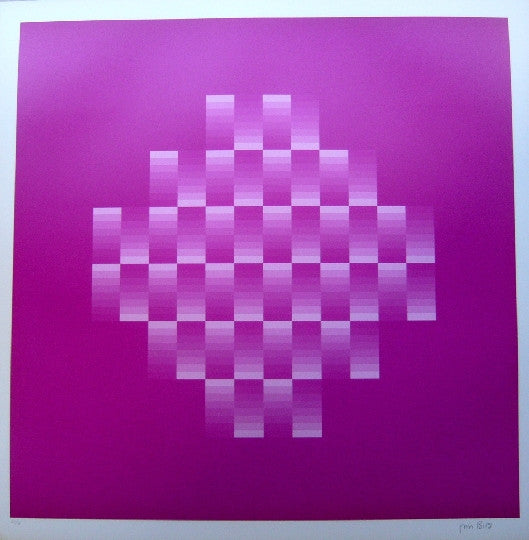 Tribute to Vasarely 10 by Jim Bird