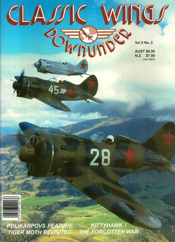 Classic Wings Downunder Vol.5 No.2 Reference Book N/A Reference_Book