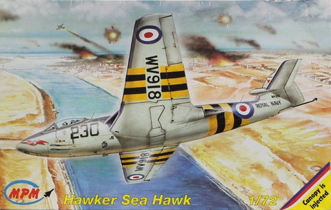 MPM 1:72 Hawker Sea Hawk F.Mk.I Plastic Model Kit #72094U N/A MPM