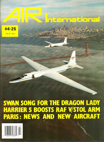 Air International Vol.37 No.2 August 8.1989 Issue Magazine U N/A Air_International
