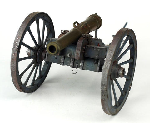 Verlinden Built 1:16 WWI French Cannon with Limber Original Display #VPBFcann N/A Verlinden Productions
