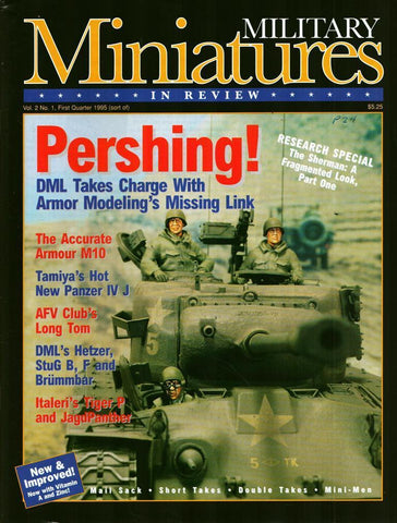 Military Miniatures In Review Vol.2 No.1 Final Quarter 1995 pershing Magazine U1 N/A Military_Miniatures_In_Review