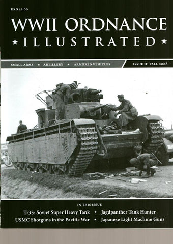 WWII Ordnance illustrated Fall 2008 Issue II T-35 Soviet Super Armor Plate Press N/A Armor_Plate_Press