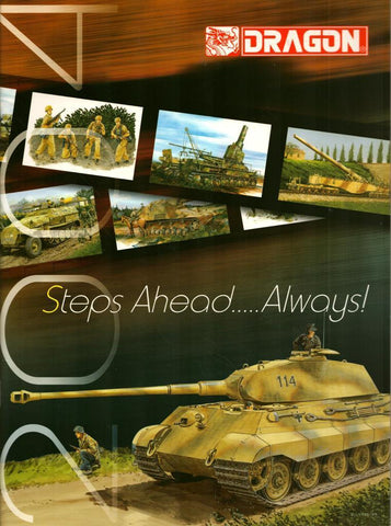 Dragon Models 1993 Steps Ahead Always 2004 Catalog Reference Book N/A Dragon_Models