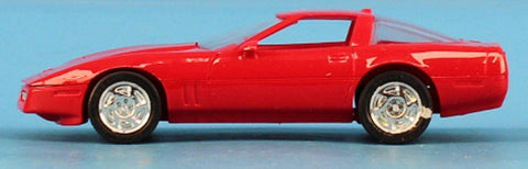 AMT ERTL 1:25 1990 Chevrolet Corvette ZR-1 Bright Red Built Model Car #6034-2 N/A AMT_ERTL