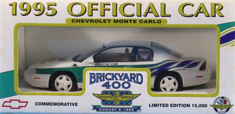 Brookfield 1:25 1995 Official Car Chevrolet Monte Carlo Brickyard 400 U N/A Brookfield