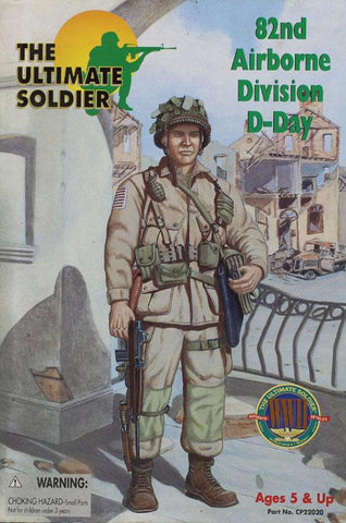 "21st Century Ultimate 1:6 12"" 82nd Airborne D-Day Action Figure #CP22020U N/A 21st_Century_Toys"