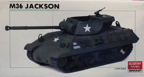 Academy Minicraft 1:35 US Army M-36 Jackson Plastic Model Kit #1309U N/A Academy_Minicraft