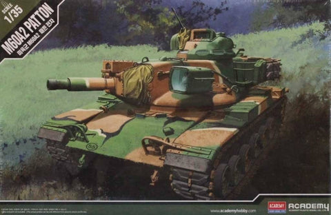 Academy 1:35 M60A2 Patton Plastic Hobby Model Kit #13296 N/A Academy
