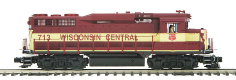 MTH 1:48 O Scale EMD GP-30 Engine Non-Powered Dummy Wisconsin Central #713 Train #20-2751-3