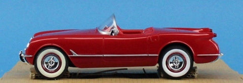 AMT ERTL 1:25 1954 Chevrolet Corvette Red Built Model #30001U N/A AMT_ERTL