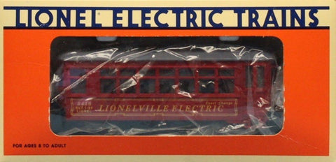 Lionel O Gauge #8419 Lionelville Electric Trolley Engine #6-18419U1 N/A Lionel