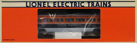 Lionel O Gauge 1998 City of Providence Passenger Car Train Collectors #6-52143U N/A Lionel