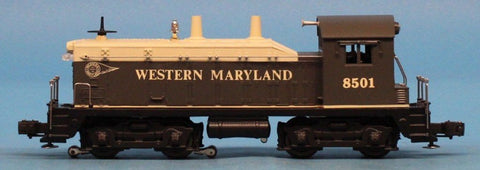 Lionel O Gauge Western Maryland #8501 NW-2 Diesel Switcher Engine #6-18501U N/A Lionel