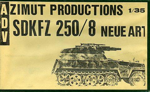 ADV 1:35 Sd.Kfz 250/8 Neue Art Resin Conversion For Italeri/Testors Kit #35115X N/A A.D.V / Azimut