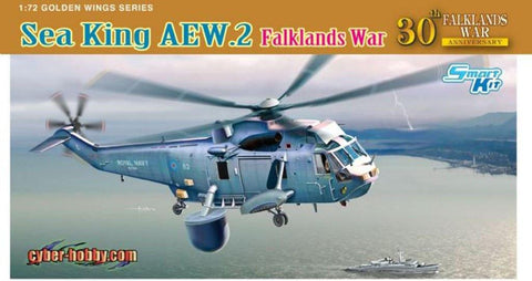 Cyber Hobby 1:72 Sea King AEW.2 Falklands War 30th Anniversary Model Kit #5104 N/A Cyber Hobby