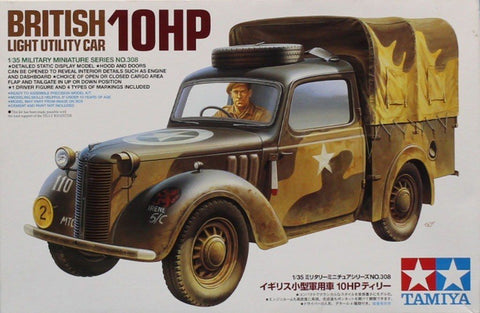 Tamiya 1:35 British Light Utility Car 10HP Plastic Model Kit #MM308 #35308U N/A Tamiya