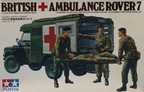 Tamiya 1:35 British Ambulance Rover 7 Plastic Model Kit #MM182U N/A Tamiya