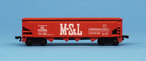Maisto On Track N Gauge M StL #541080 Minneapolis & St Lous Hopper Car Diecast #MOC01U