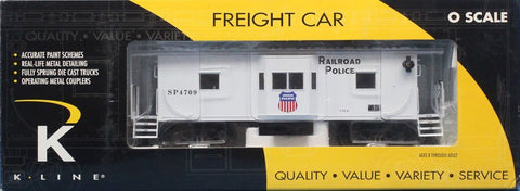 K Line O Scale Union Pacific Railroad Police #SP4709 Window Caboose Car #K612-2113