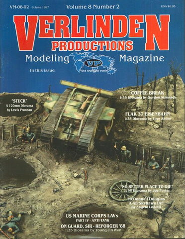 Verlinden Productions Modeling Magazine Coffee Break June 1997 Vol.8 No.2 N/A Verlinden Publications