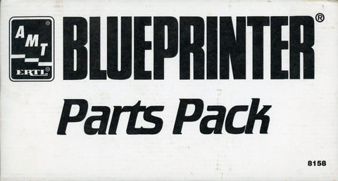 AMT ERTL 1:25 Blueprinter Parts Pack Plastic Detail Set #8158