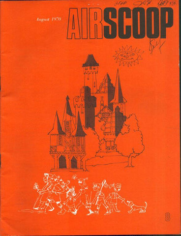 Airscoop 8 August 1970 Vol.10 No.8 Magazine U1 N/A Airscoop