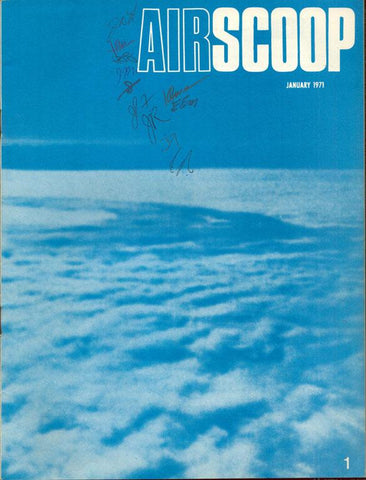 Airscoop 1 January 1971 Vol.11 No.1 Magazine U1 N/A Airscoop