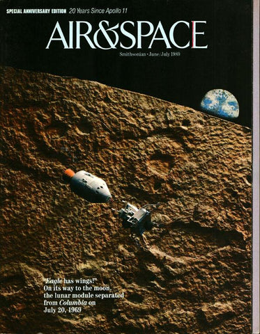 Air & Space 6/7 June/July 1989 Vol.4 No.2 Issue Magazine U1 N/A Airscoop
