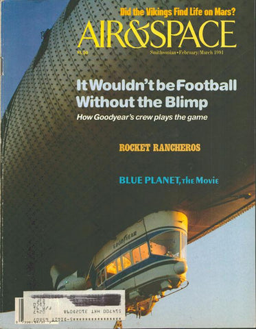 Air & Space 2/3 February/March 1991 Vol.5 No.6 Issue Magazine U1 N/A Airscoop
